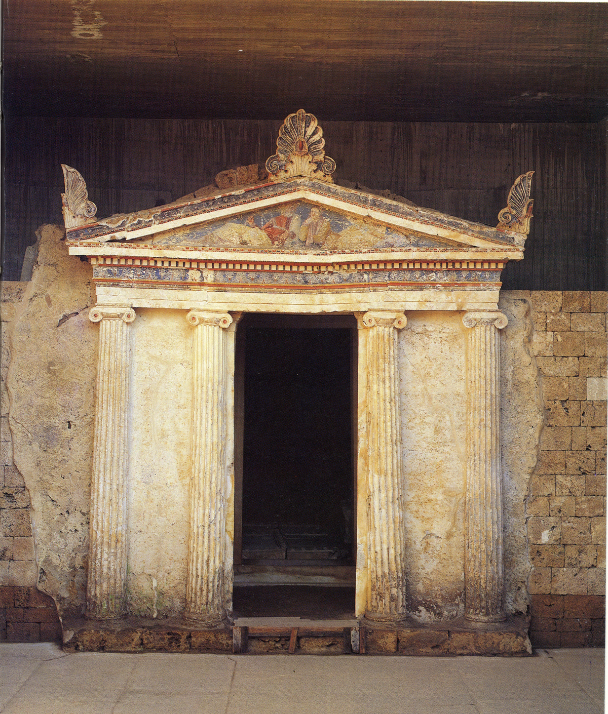 Tomb of Anthemion and Aetoma