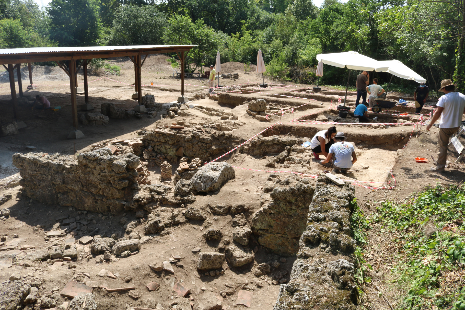 New archaeological excavations in Mieza 2018